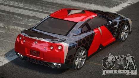 Nissan GT-R Egoist L7 для GTA 4