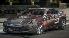 Hyundai Genesis GST Drift L3 для GTA 4