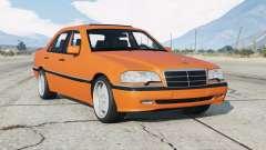 Mercedes-Benz C 200 Elegance (W202) 1998 v1.2 для GTA 5