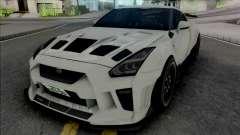 Nissan GT-R R35 Kream Edition для GTA San Andreas