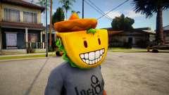 GTA V Taco Mask For Cj для GTA San Andreas