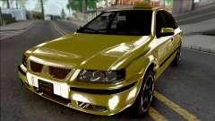 Ikco Samand LX Taxi для GTA San Andreas