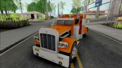 Kenworth W900 Orange для GTA San Andreas