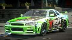 Nissan Skyline PSI Drift L1 для GTA 4