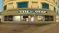 Car Parts Shop для GTA Vice City
