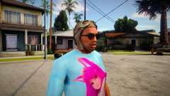 GTA V Pilot Hat For CJ для GTA San Andreas