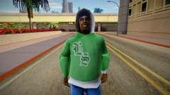 Новый участник банды [FAM1] для GTA San Andreas