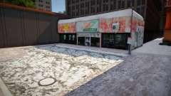 Winter 24hours Supermarket для GTA San Andreas