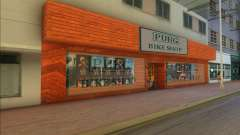 PUBG Bike Shop для GTA Vice City