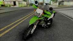 Kawasaki KLX 150 Green для GTA San Andreas