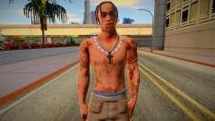 Travis Scott для GTA San Andreas