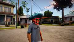 Mariachi Skull Mask For CJ для GTA San Andreas