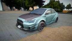 Mitsubishi Lancer Evo X Varis для GTA San Andreas