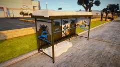 Winter Bustop для GTA San Andreas
