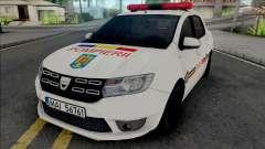 Dacia Logan Plus Fire Department