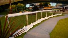 Winter Fence Mesh 5 для GTA San Andreas
