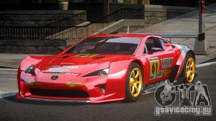 Lexus LFA PSI-R L1 для GTA 4