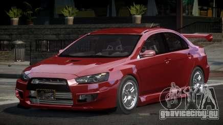 Mitsubishi Lancer X GST-R для GTA 4