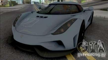Koenigsegg Regera 2016 from Real Racing 3 для GTA San Andreas