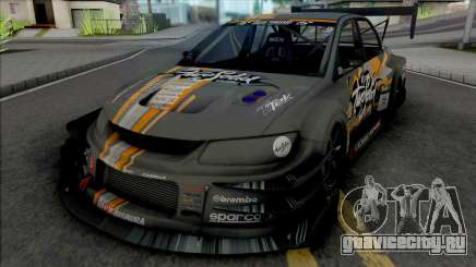 Mitsubishi Lancer Evolution VIII Time Attack для GTA San Andreas