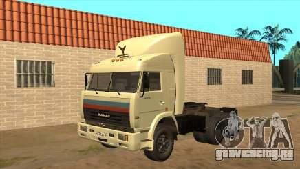 КамАЗ 54115 (Дальнобойщики) v2 для GTA San Andreas