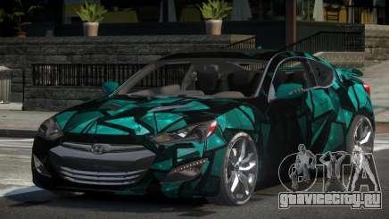 Hyundai Genesis GST Drift L2 для GTA 4