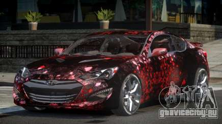 Hyundai Genesis GST Drift L6 для GTA 4