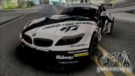 BMW Z4 GT3 Team NFS для GTA San Andreas