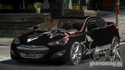 Hyundai Genesis GST Drift L7 для GTA 4
