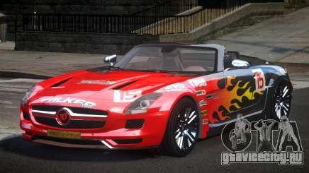 Mercedes-Benz SLS PSI-R L3 для GTA 4
