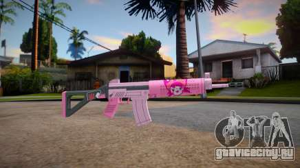 APB SR15 Carbine (Otome Neko) для GTA San Andreas