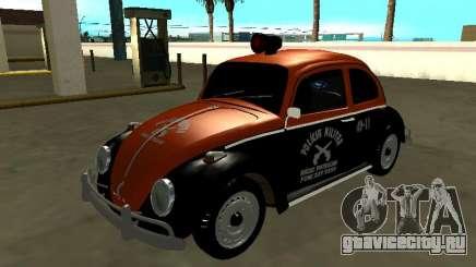 Volkswagen Beetle 1969 Rádio Patrulha Paulista для GTA San Andreas