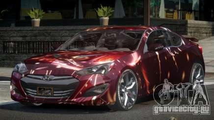 Hyundai Genesis GST Drift L10 для GTA 4