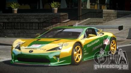 Lexus LFA PSI-R L9 для GTA 4