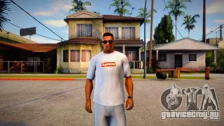 Supreme Bogo Tee для GTA San Andreas