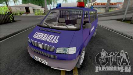 Volkswagen Caravelle Jandarmeria для GTA San Andreas