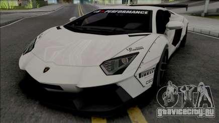 Lamborghini Aventador LP700-4 Liberty Walk для GTA San Andreas