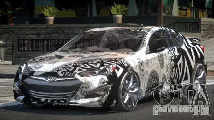 Hyundai Genesis GST Drift L4 для GTA 4