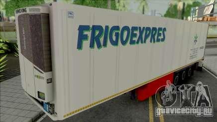 Refrigerated Trailer Frigo Express для GTA San Andreas