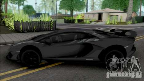 Lamborghini Aventador SVJ для GTA San Andreas