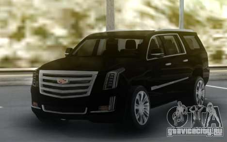 Cadillac Escalade Black Series для GTA San Andreas