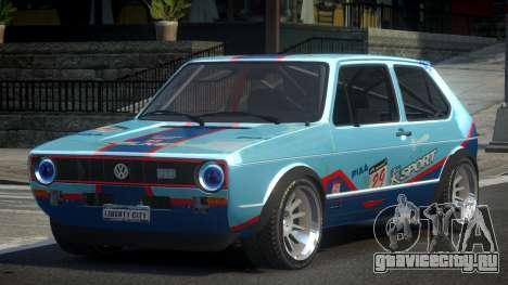 Volkswagen Golf SP-R L1 для GTA 4