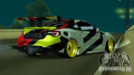 Subaru Brz Drift V2 для GTA San Andreas