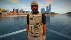 Спецназовец из GTA V V1 для GTA San Andreas