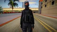 New SWAT (good textures) для GTA San Andreas