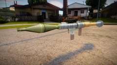 New textures for the rocket launcher