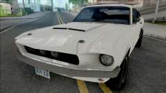 Ford Mustang Shelby GT500 1967 White для GTA San Andreas