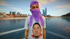 Kendrick Lamar Ballas style для GTA San Andreas