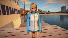 Marie Rose Training Gear skin для GTA San Andreas
