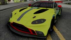 Aston Martin Vantage GTE 2019 для GTA San Andreas